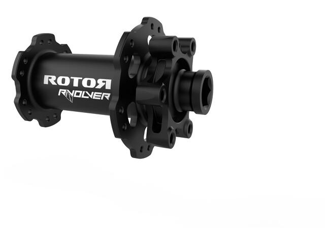 Rotor R-Volver Front Wheel Hub 12x100mm Disc, negro